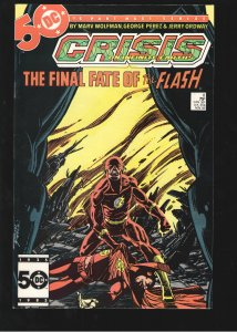 Crisis on Infinite Earths #8 NM 9.2 Death of the FLASH! Stunner!