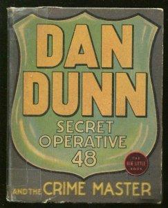 DAN QUINN SECRET OPERATIVE 48-BIG LITTLE BOOK-#1171-1937-NORMAN MARSH ART-vg