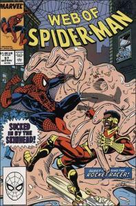 Marvel WEB OF SPIDER-MAN (1985 Series) #57 VF/NM