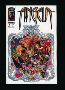 ANGELA #1 ~ Image Comics 1994 ~ NM (PF340)