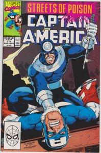 Captain America #374