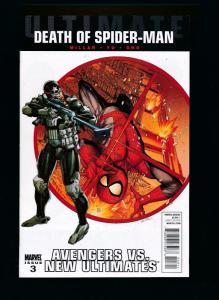 Ultimate Death of Spider-Man #3 Avengers vs. ~ Marvel Comics 2011 ~ NM (HX535)