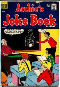 Archie's Joke Book #91 1965-Betty & Veronica -VG