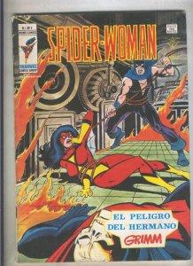 Spider Woman numero 02: El peligro del hermano Grimm (numerado 5 en trasera(