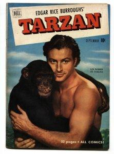 TARZAN # 24 1951 DELL EDGAR RICE BURROUGHS FN+