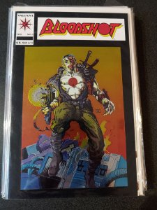 BLOODSHOT #1 FIRST CHROMIUM COVER Ever!