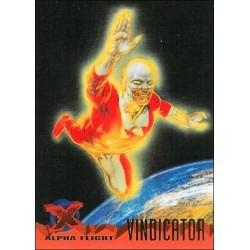 1995 Fleer Ultra X-Men VINDICATOR #57