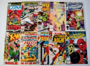 Marvel Silver & Bronze Age Comic Book Lot of (10) Lower Grade Copies  CL70/03
