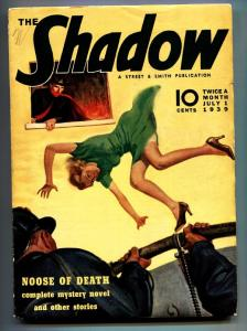 SHADOW 1939 pulp magazine JUL 1-STREET AND SMITH vg/fn