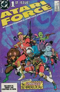 Atari Force #1 VF/NM; DC | save on shipping - details inside