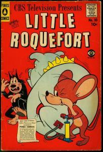 Little Roquefort #10 1958-CBS Television- Pines Comics VG