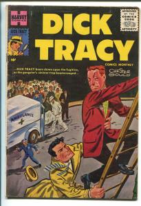 DICK TRACY #107 1956-HARVEY-CHESTER GOULD-GREYTONE COVER-BOB POWELL-vg