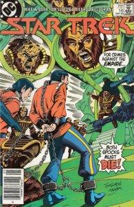 Star Trek (3rd Series) #14 (Newsstand) VG; DC   low grade comic - save on shippi