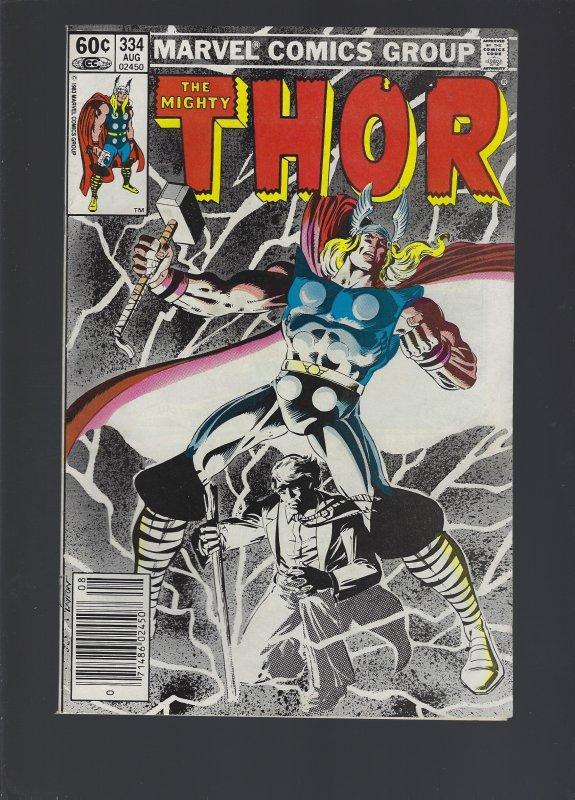 Thor #334 (1983)