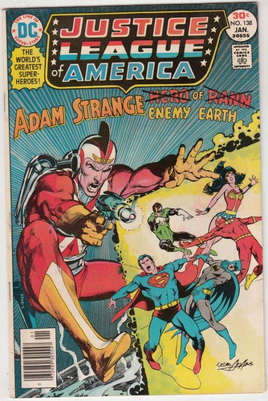 Justice League of America #138 (Jan-77) VF/NM High-Grade Justice League of Am...