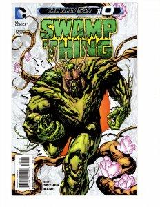 Swamp Thing #0 (VF/NM) 2011 4th series ID#MBX1