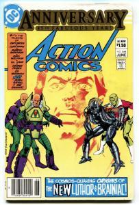 Action #544 First Lex Luthor Armor suit Brainiac 1983 comic book