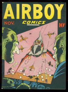 AIRBOY COMICS V.3 #10-SKY WOLF/HEAP-HIGH GRADE COPY-HOT VF-