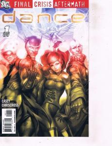 Lot Of 2 Comic Books DC Final Crisis Aftermath Dance #1 and #2 Batman LH6