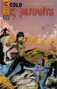 Solo Ex-Mutants #3 FN; Eternity | save on shipping - details inside