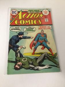 Action Comics 444 5.5 Fn- Fine- DC Comics