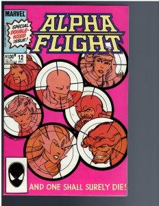Alpha Flight #12 (1984)