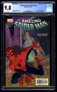 Amazing Spider-Man (1999) #58 CGC NM/M 9.8 White Pages