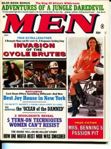 Men-1/1970-Pussycat-Motorcycles-Hellholes-Adventure