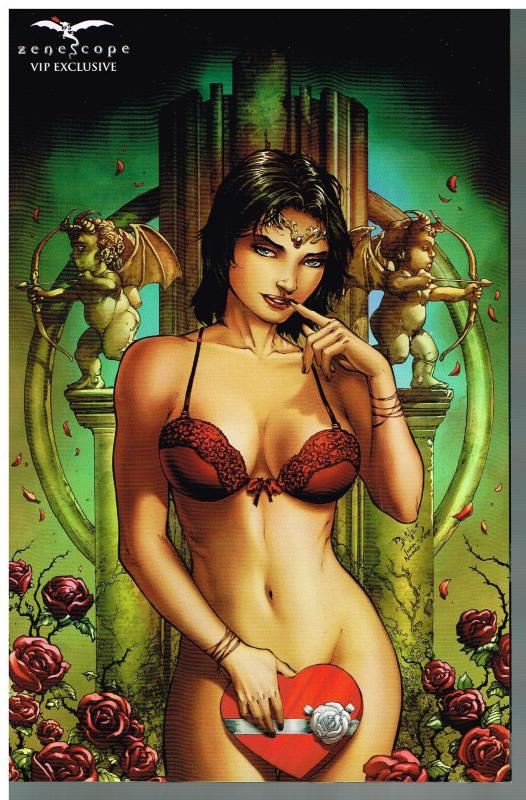 Grimm Fairy Tales Realm War Age Of Darkness #7 VIP Exclusive NM Zenescope