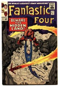 FANTASTIC FOUR #47-1966-JACK KIRBY ART-MARVEL COMICS KIRBY