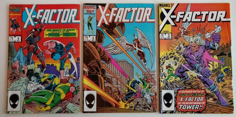 X-Factor #2, #3 & #4