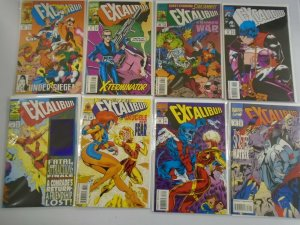 Excalibur lot 50 different #65-125 + Annual, special 8.0 VF (1993-98 1st Series)