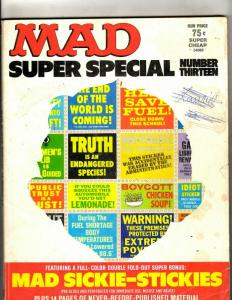 Lot Of 3 Mad Super Special Magazines # 13 (1974) Fall 1981 Winter 1981 JL20