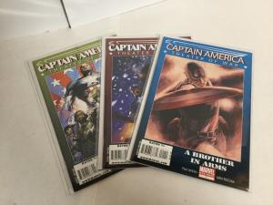 Captain America Theater Of War 3 Issue Lot Nm Near Mint Marvel Comics A45