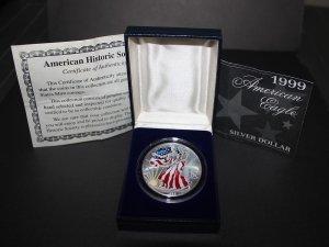 1999 Full Color American Silver Eagle