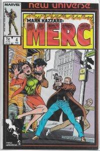 Mark Hazzard  : Merc   # 4 FN (New Universe) Peter David