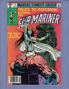Tales To Astonish #9 FN Namor Sub-Mariner Marvel 1980