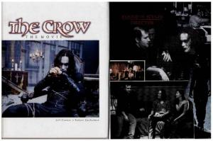 CROW THE MOVIE-cover to cover BRANDON LEE!!! Classic great testament