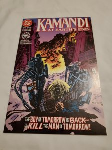 Kamandi at Earth's End 1 Near Mint- Cover by Gomez