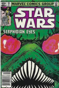 Star Wars #64   book still 60 cents