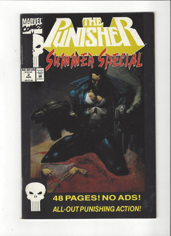 The Punisher Summer Special #2 (1992) 48 Pages Bisley Cover Marvel Comics NM