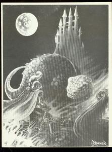 Infinity Fanzine #2 1970- Wrightson- Frazetta- Brunner- Finlay VF