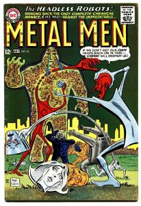 Metal Men #14 1965  DC Silver Age- Chemo appearance