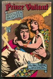 Prince Valiant And The Golden Princess Hardcover 1976