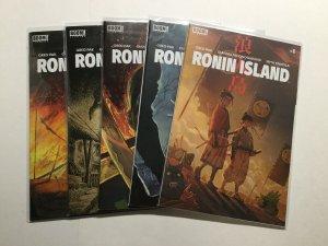 Ronin Island 1-5 1 2 3 4 5 Lot Run Set Nm Near Mint Boom Studios