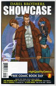 DABEL BROTHERS Showcase, VF+, FCBD, Promo, Star Wars, 2009, Dresden Files