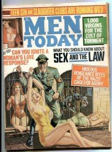 Men Today November 1969- caged women / dog terror cover VG-