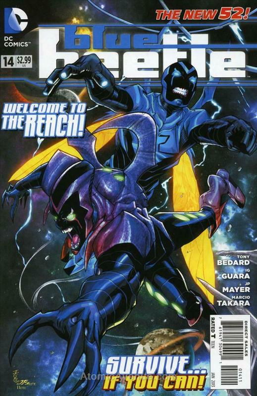Blue Beetle (5th Series) #14 VF/NM; DC | save on shipping - details inside