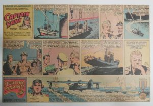 Captain Yank Sunday by Frank Tinsley from 6/24/1945 Size: 11 x 15 inches (CT)
