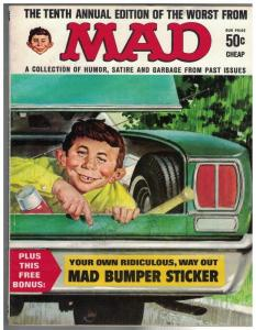 WORST FROM MAD (1958-1969) 10 VG 1967